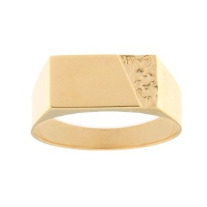 Gold men's ring Code: rn0207