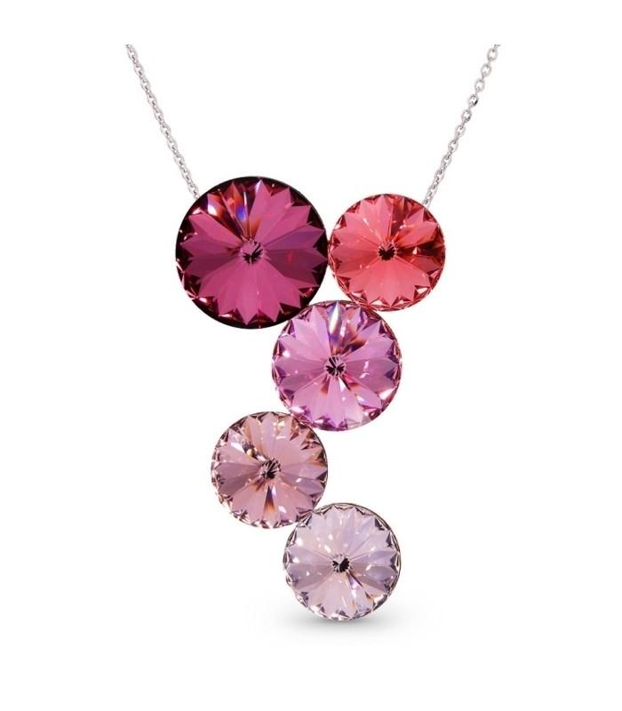 Silver pendant with Swarovski® crystals Code: NK1122R