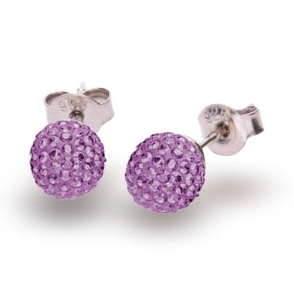 Hõbedast kõrvarõngad Swarovski® kristallidega Kood: K860016AM