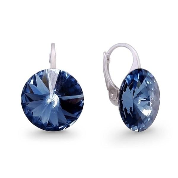 Hõbedast kõrvarõngad Swarovski® kristallidega Kood: KA112214M