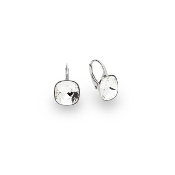 Silver earrings with Swarovski® crystals Code: KA447010C