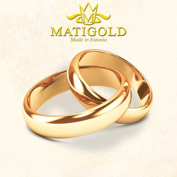 MATIGOLD abielusõrmused - laulatussõrmused - Mati Kullaäri