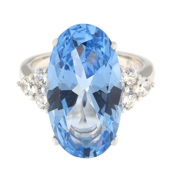 Hõbedast sõrmus Gioialite kividega Kood: AN10361-RO-DAQ