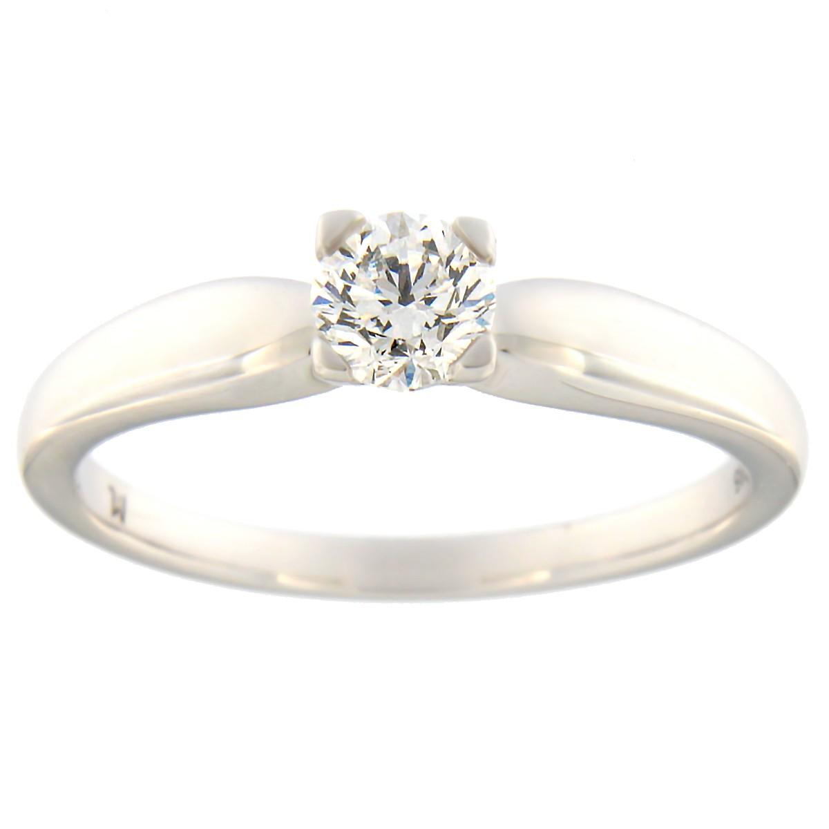 af7ca1a221c Kullast sõrmus teemantiga 0,40 ct. Kood: 105at · Esileht / Ehted /  Kihlasõrmused ...