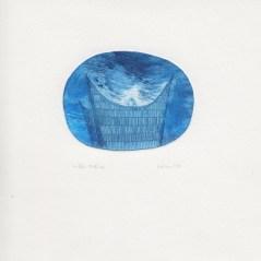 Souffle (19h42) e.a. , 2013, pointe sèche sur rhénalon