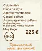 formule relooking et accompagnement shopping et coiffure et maquillage