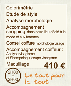 accompagnement shopping, relooking, coiffure et maquillage bordeaux