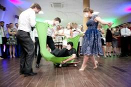 wesele bezalkoholowe zabawa latający dywan