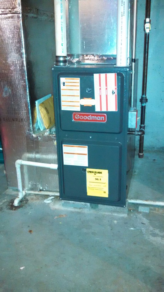 Hollis NH Propane Furnace Installation