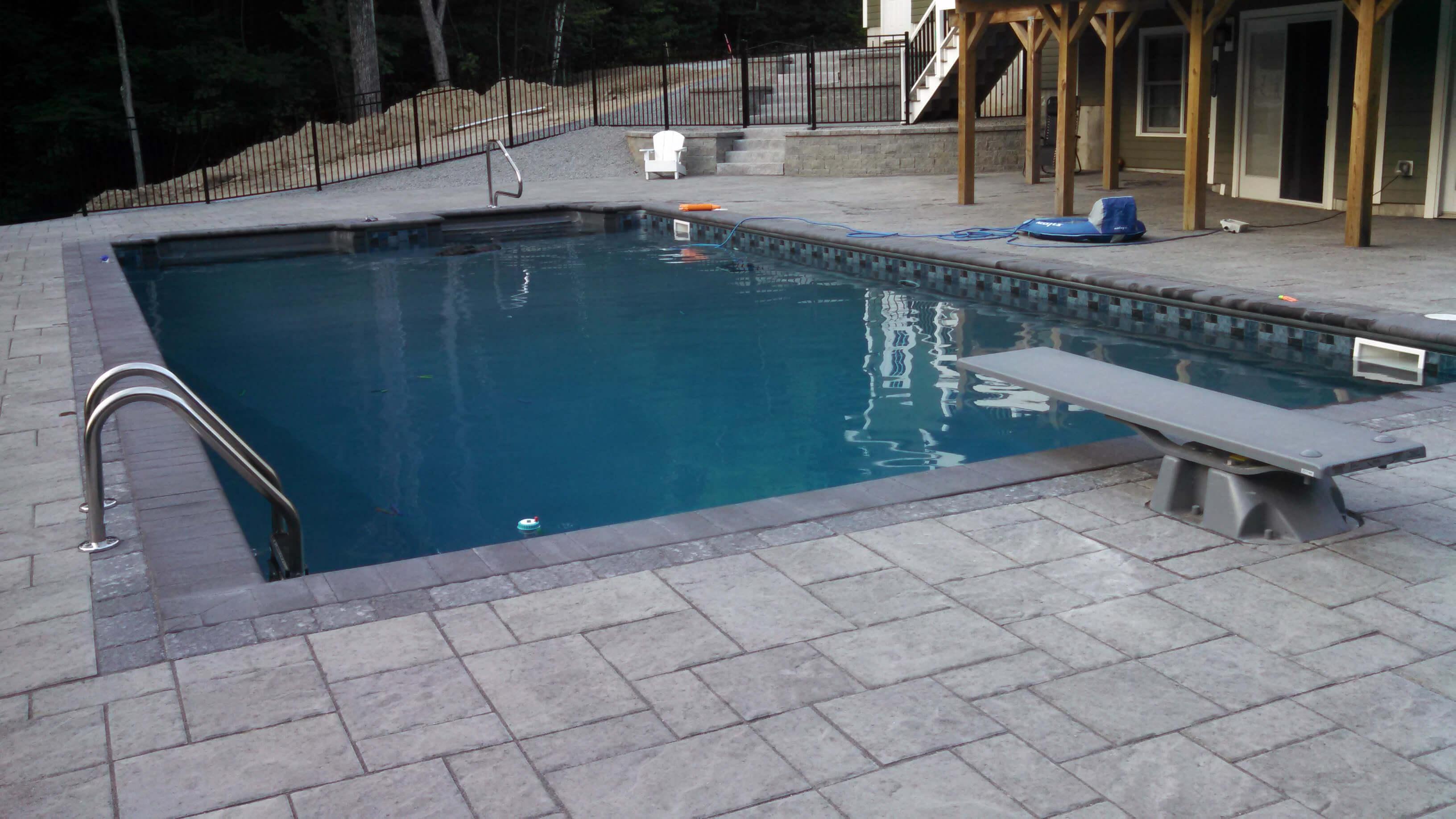 Dunbarton NH Inground Swiming Pool Installation
