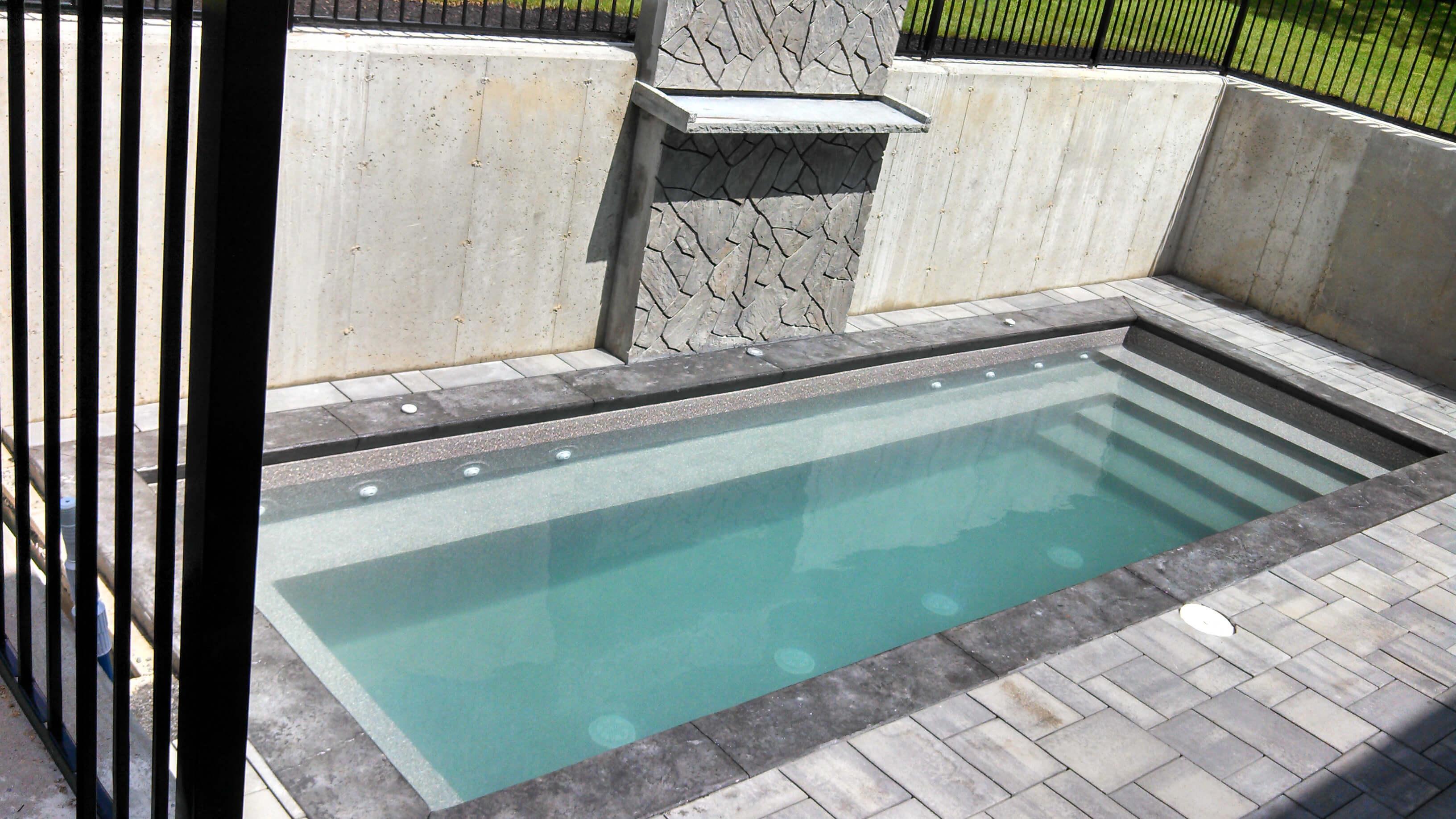 Chelmsford MA Custom Swimming Pool Installation
