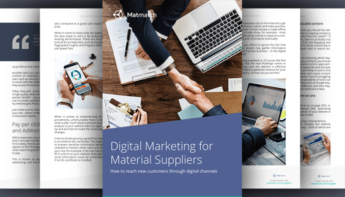 Digital Marketing for Material Suppliers