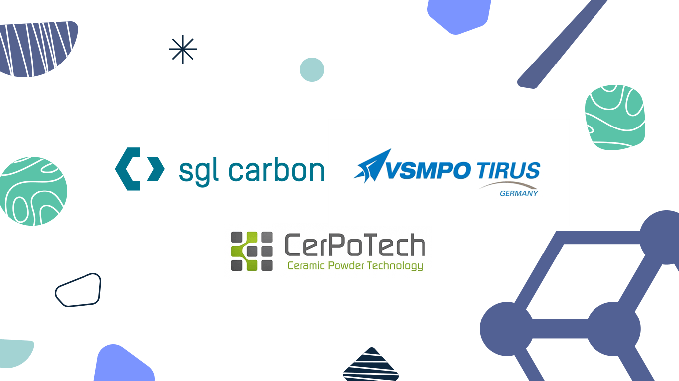 SGL Carbon, VSMPO TIRus and CERPOTECH join Matmatch