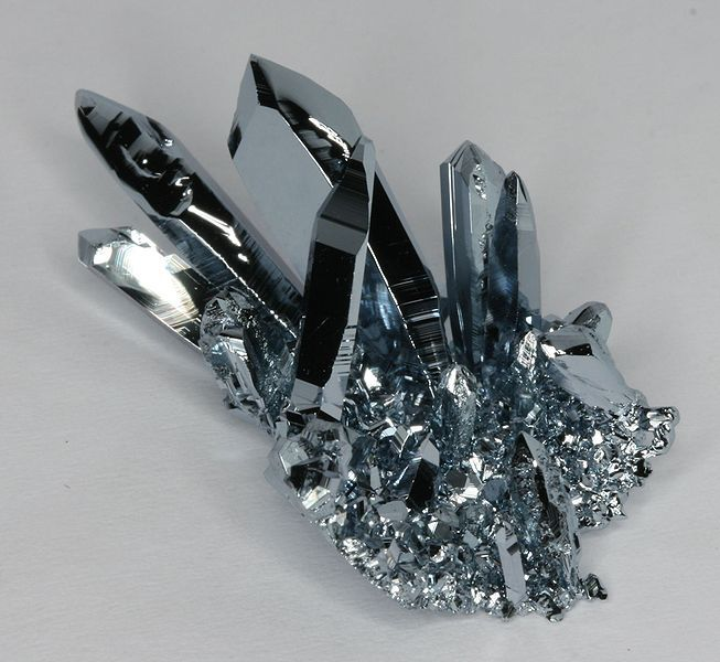 Osmium is a chemical element with the symbol Os and atomic number 76.
