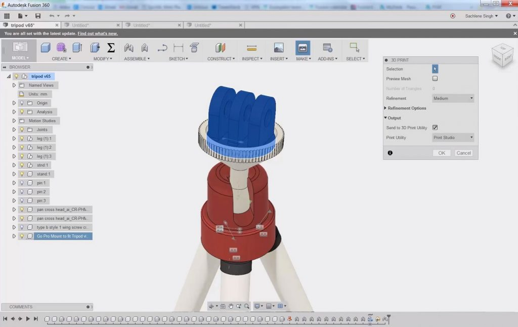 Step 1: Create your design in a CAD modelling software