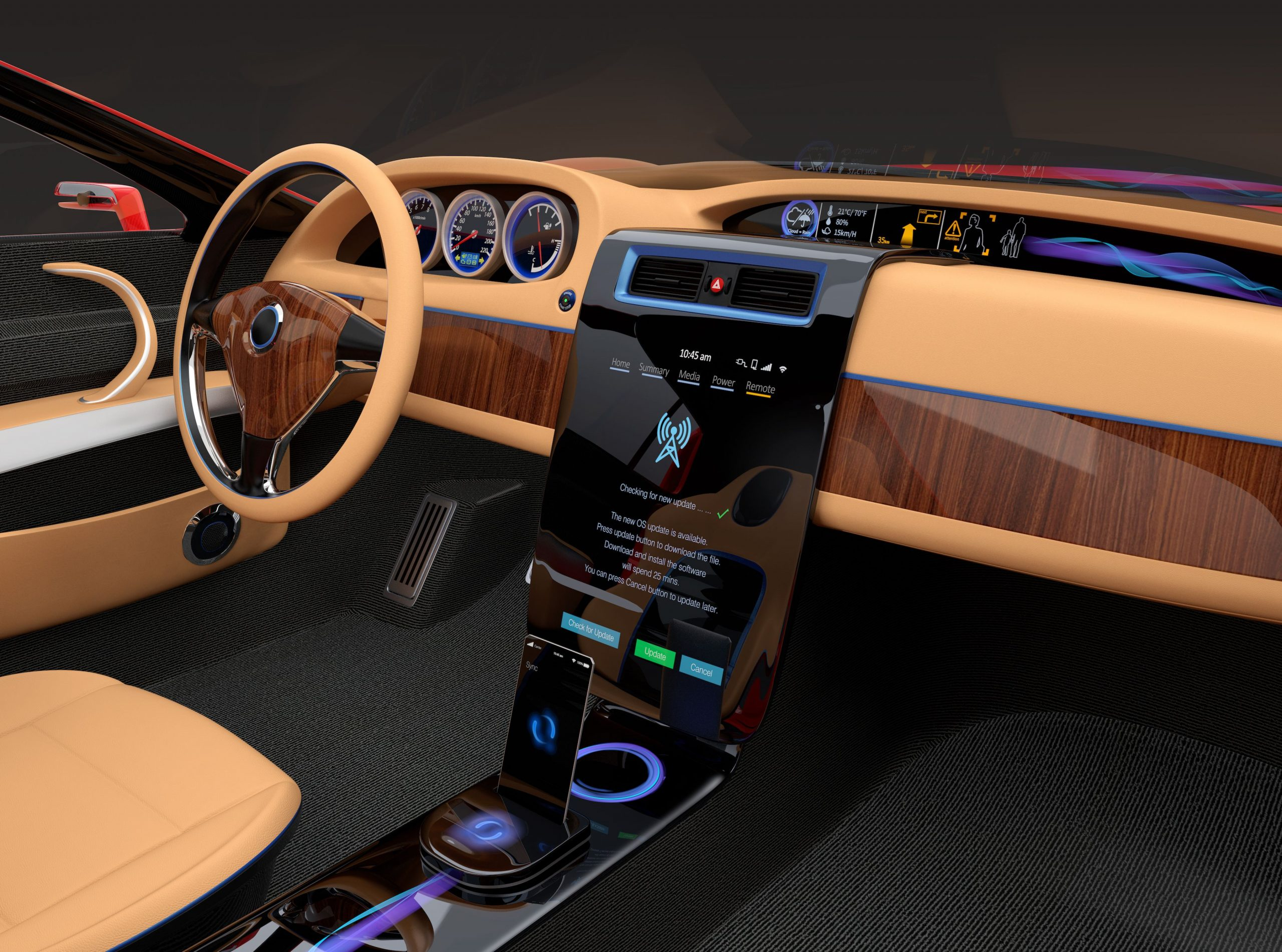 The Biggest Design Trends for the Automotive Industry 2020 - reducing interior VOC