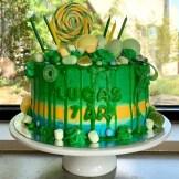 Lys sjokoladekake med vaniljesmørkrem