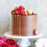 sjokoladekake med sjokoladesmørkrem