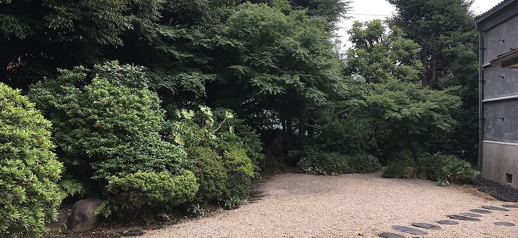 旧江戸川乱歩邸[庭]