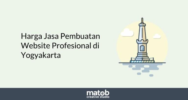 Harga Jasa Pembuatan Website Profesional Yogyakarta 2019