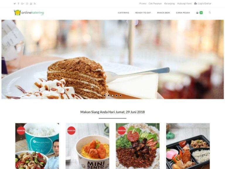 jasa pembuatan website perusahaan online katering