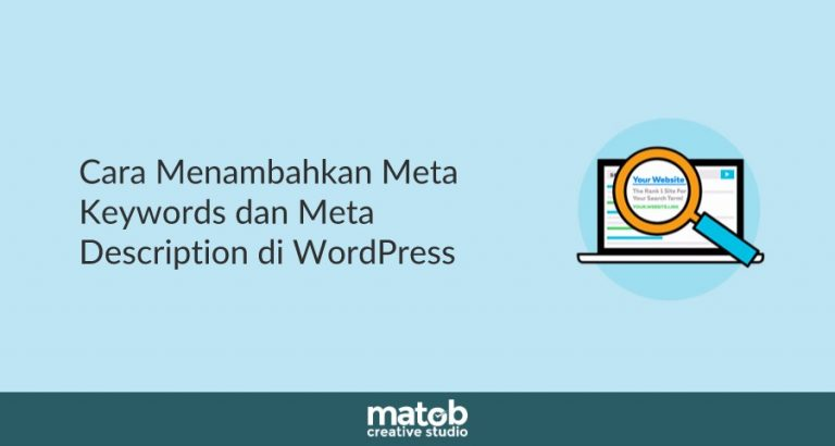 Cara Menambahkan Meta Keywords dan Meta Description di WordPress 2019