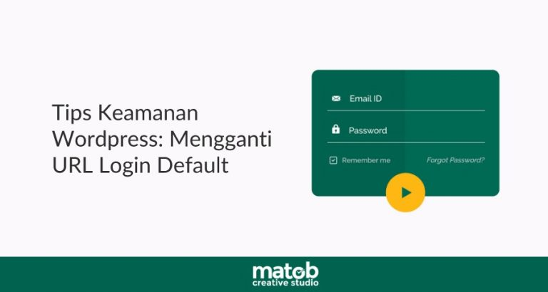 Tips Keamanan WordPress: Mengganti URL Login Default