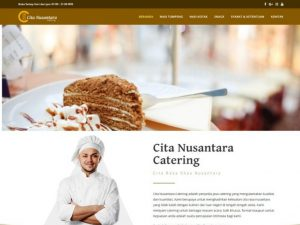 Website Cita Nusantara Catering