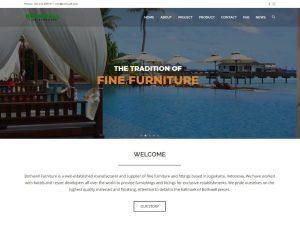Website Perusahaan Furniture