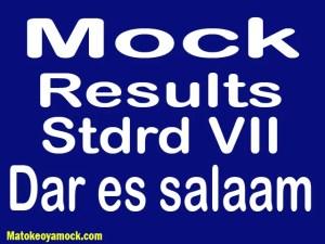 Matokeo ya mock darasa la saba 2021 Dar es Salaam, Mock results darasa la saba 2021 Dar es Salaam, matokeo ya mock ya darasa la saba 2021 mkoa wa Dar es Salaam, matokeo ya mock standard seven