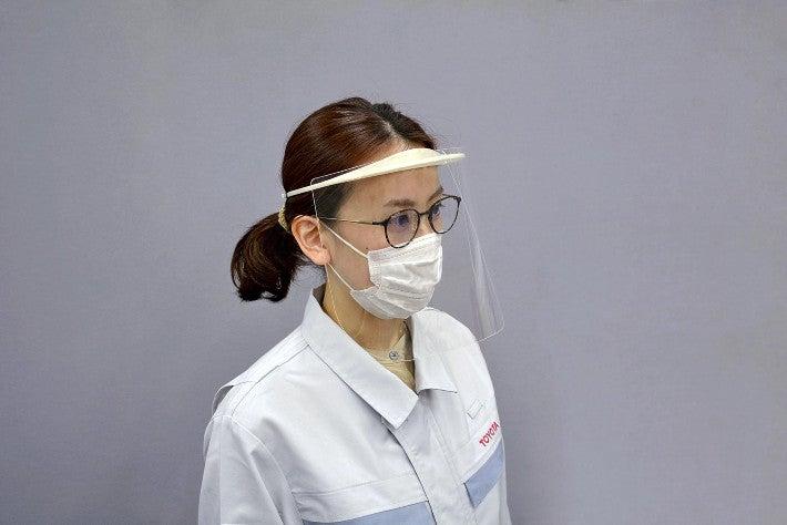 顔覆う医療用シールド、トヨタが生産力20倍に増強  [首都圏の虎★]