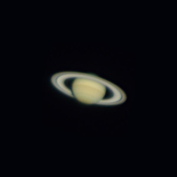 天体望遠鏡で土星を撮影しました(画像あり)  [kiki★]