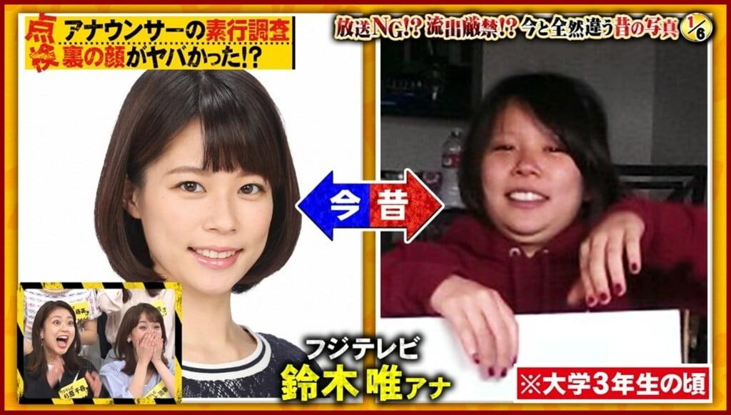 フジ女子アナ・鈴木唯はかわいいけど性格難?彼氏や結婚の噂まとめ