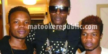 Chameleone and the twins.