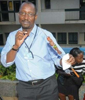 NSSF MD Richard Byarugaba.