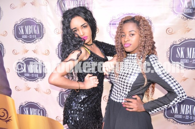 Afterall Mbuga is a Muslim. The girls had to look their best ... You never know.