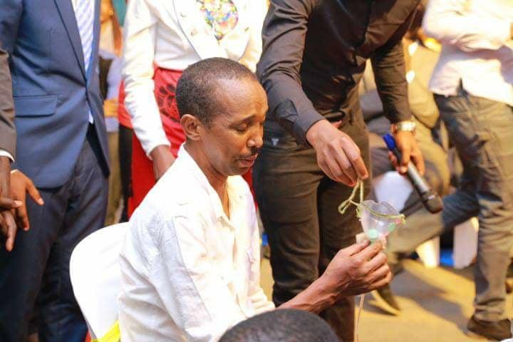 PHOTOS Prophet Shepherd Bushiri Allegedly Heals Man Who