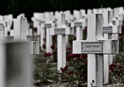 Der Friedhof vor dem Beinhaus