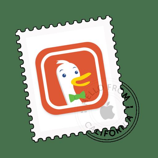 Icon concept for DuckDuckGo extension