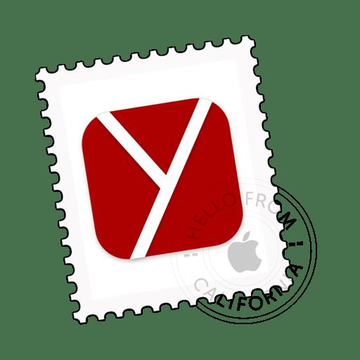 macOS Big Sur icon concept for Yandex browser