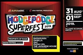 Penampil Hodgepodge Superfest 2019