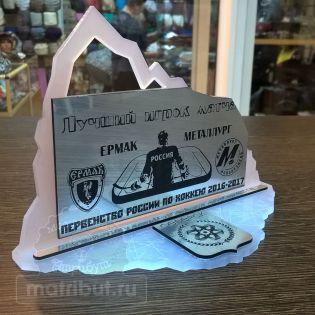 Награда для этапа первенства России по хоккею