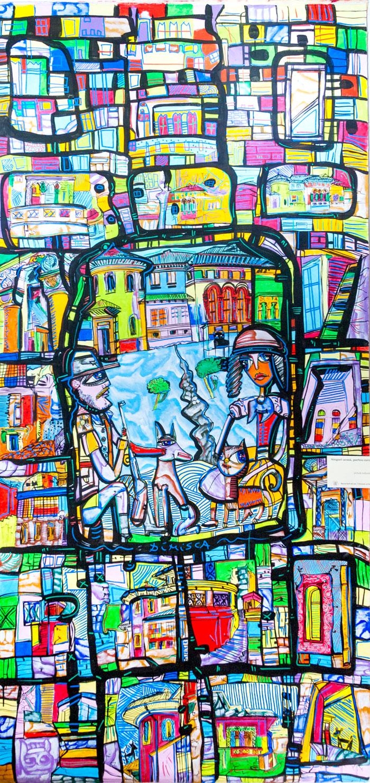 Casa Miclescu - o reinterpretare plastică