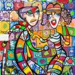 """Restaurantul Casei Regale """"Flora"""", în viziunea artistului"""