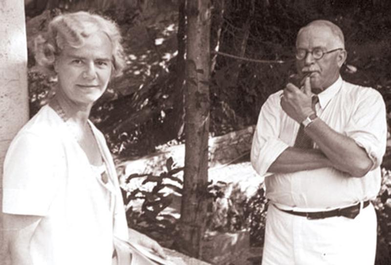 Olga Fröbe Kapteyn și Carl Gustav Jung