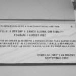 a renăscut Braşovul România centenară filială Banca Albina