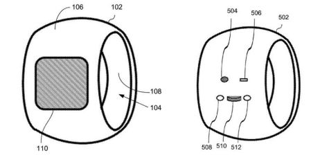 """Possible appearance on front/rear of """"Apple Ring"""""""