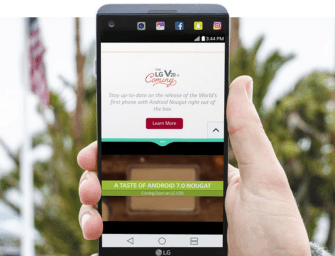 You Can Now Preorder the LG V20 from T-Mobile