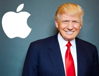 """Trump Says Tim Cook Has His """"Eyes Open"""" to Manufacturing Apple Products in the US"""