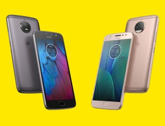 Lenovo Unveils Moto G5S and G5S Plus with Better Specs and Higher Prices